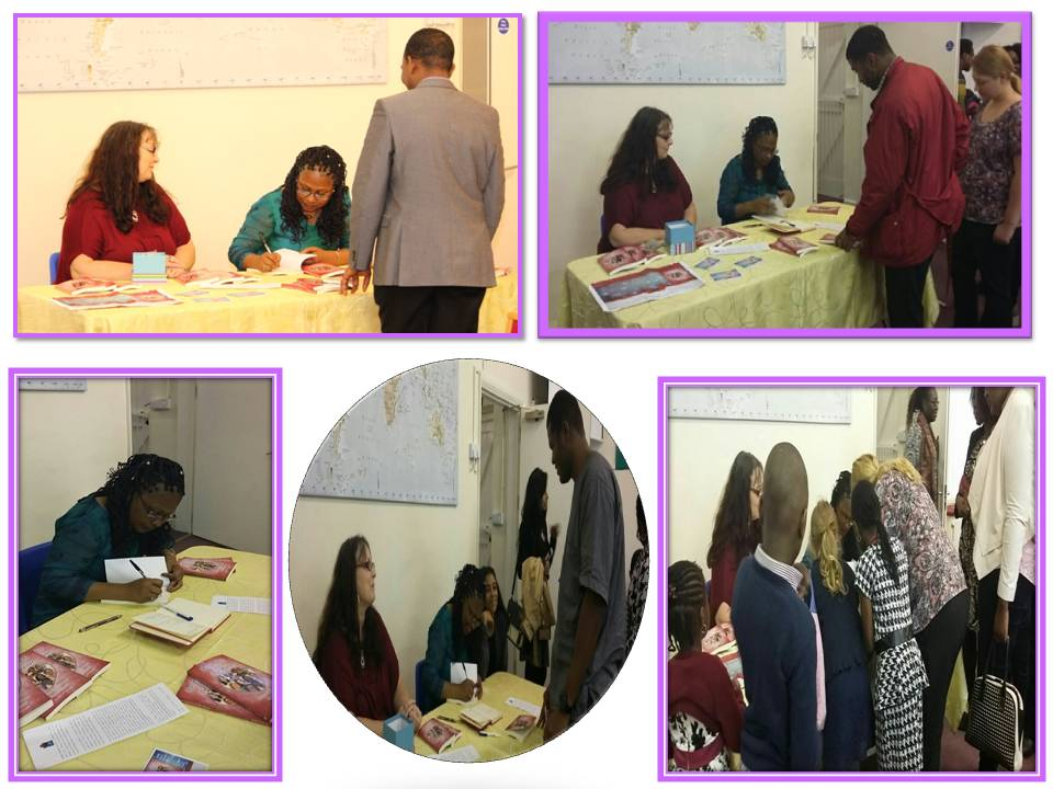 Further book signing photos at KCG