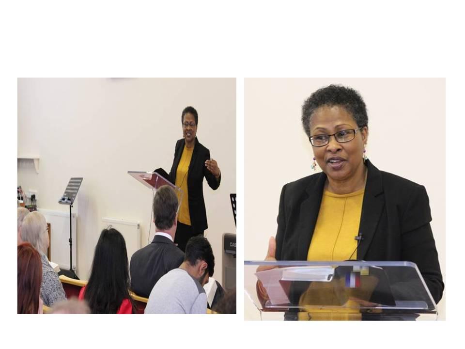 Speaking at King's Church Gilligham, Kent